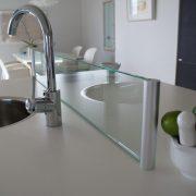 Kitchen top glass